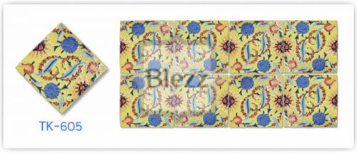 Blezz Tile Handmade Series - Paint&Drop code TK605 Pattern