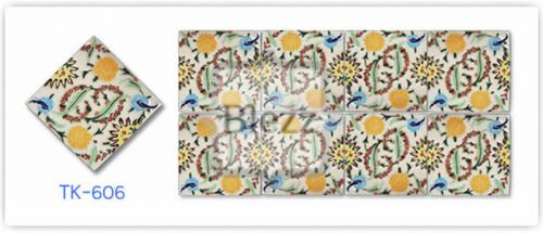 Blezz Tile Handmade Series - Paint&Drop code TK606 Pattern