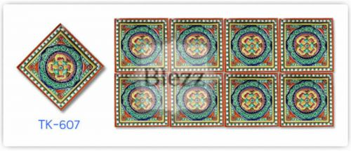 Blezz Tile Handmade Series - Paint&Drop code TK607 Pattern