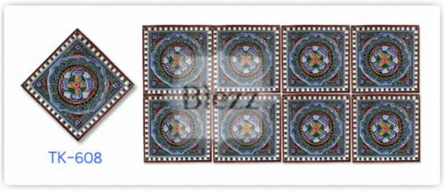 Blezz Tile Handmade Series - Paint&Drop code TK608 Pattern