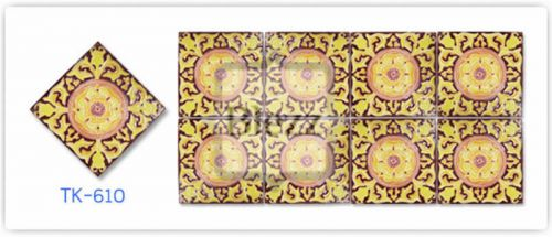 Blezz Tile Handmade Series - Paint&Drop code TK610 Pattern