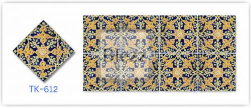 Blezz Tile Handmade Series - Paint&Drop code TK612 Pattern