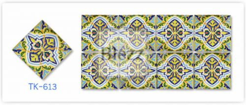 Blezz Tile Handmade Series - Paint&Drop code TK613 Pattern