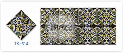Blezz Tile Handmade Series - Paint&Drop code TK614 Pattern