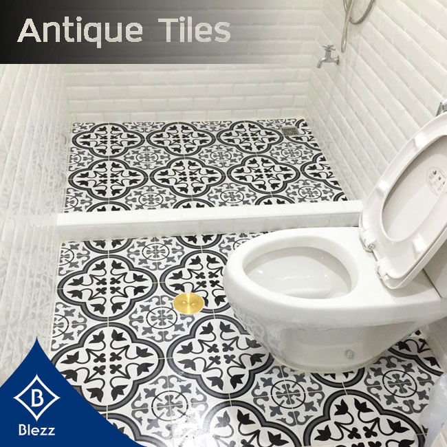 Bathroom Antique Tiles