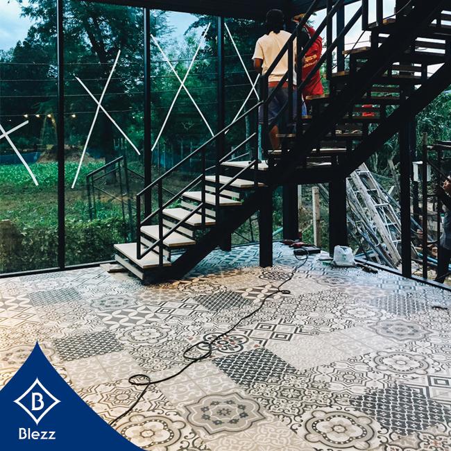antique tile flooring Pak Chong