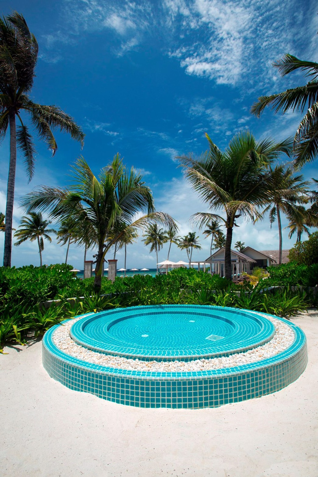 Swimming pool tiles Maldive Project.