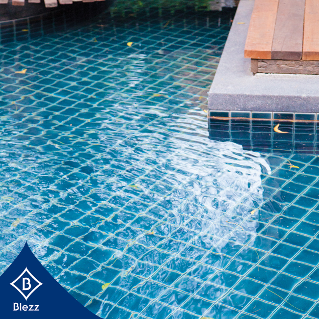 Blezz Tiles Are Always Within Your Budget To Decorate You Swimming Pool.  Blezz Produces Eco Friendly, Non Toxic Tiles Which Make A Safe And Hygienic  Place ...