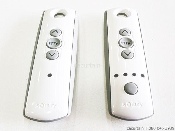 somfy Remote รีโมท มอเตอร์ผ้าม่านจีบ ซอมฟี่