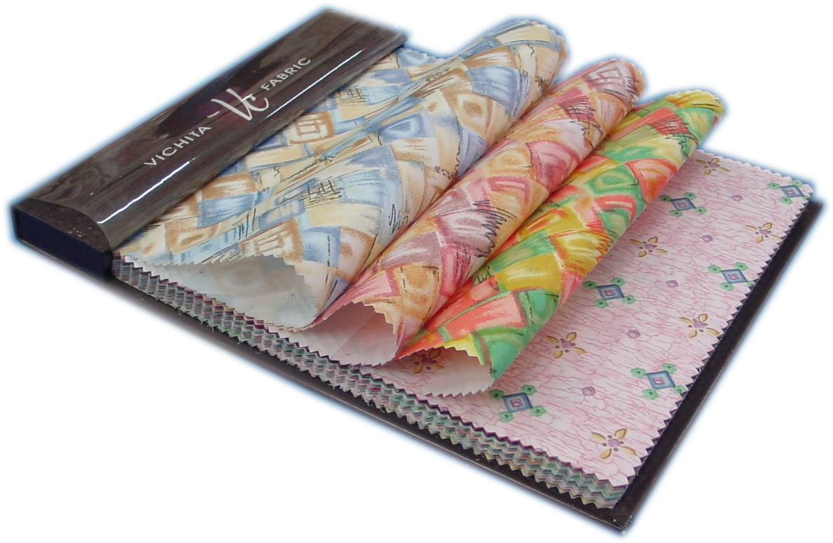 ตัวอย่างผ้าม่าน ชนิดผ้าพิมพ์ลาย