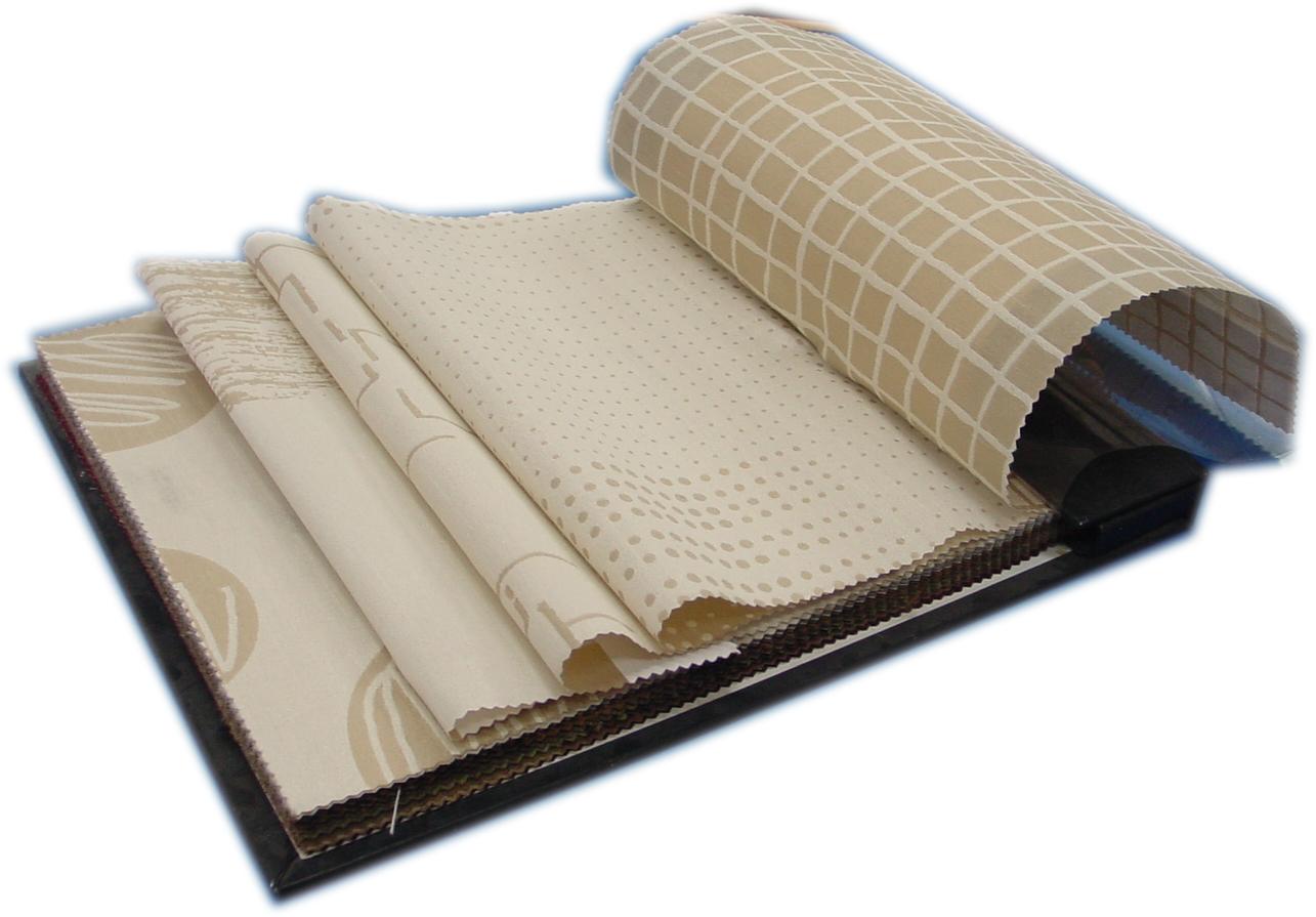 ตัวอย่างผ้าม่าน ชนิดทอลาย