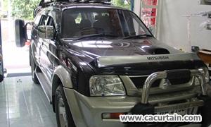 ม่านรถยนต์ Mitsubishi Gwagon