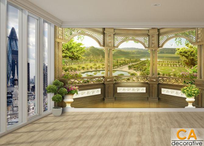 Balcony ระเบียงห้อง  ช่วยเพิ่มความสวยงาม หรูหรา