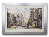 ภาพติดผนังวาดเมืองนิวยอร์ค
