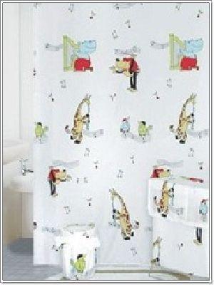ม่านห้องน้ำ โพลีเอสเตอร์ TC