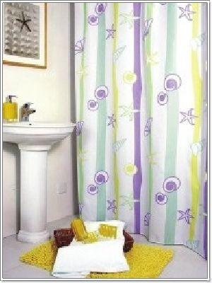 ม่านห้องน้ำ พีวีซี PVC TC 1008
