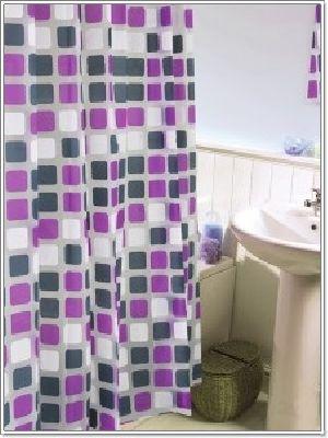 ม่านห้องน้ำ พีวีซี PVC CT3300