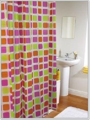 ม่านห้องน้ำ พีวีซี PVC CT5500