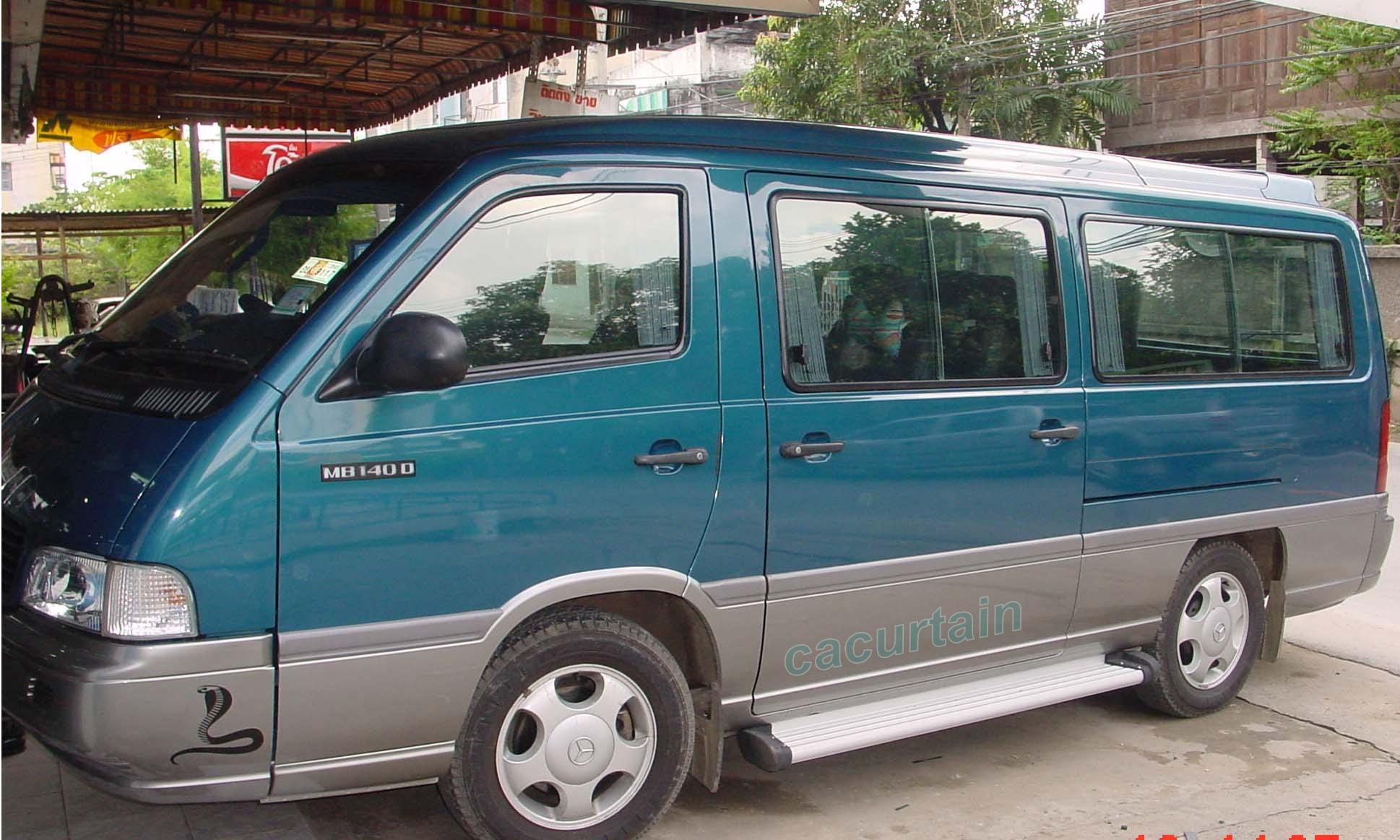 ผ้าม่านรถตู้ Benze MB 140