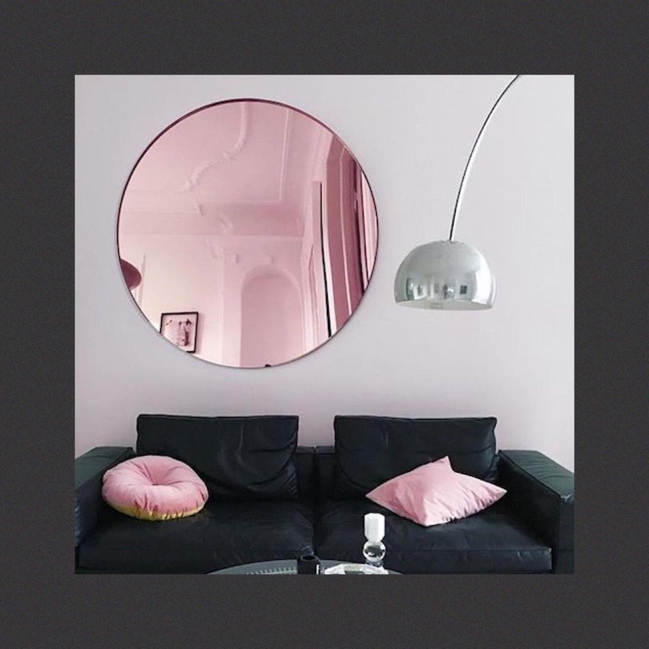 กระจกเงาสีโรสโกลด์ Rose Gold Mirror