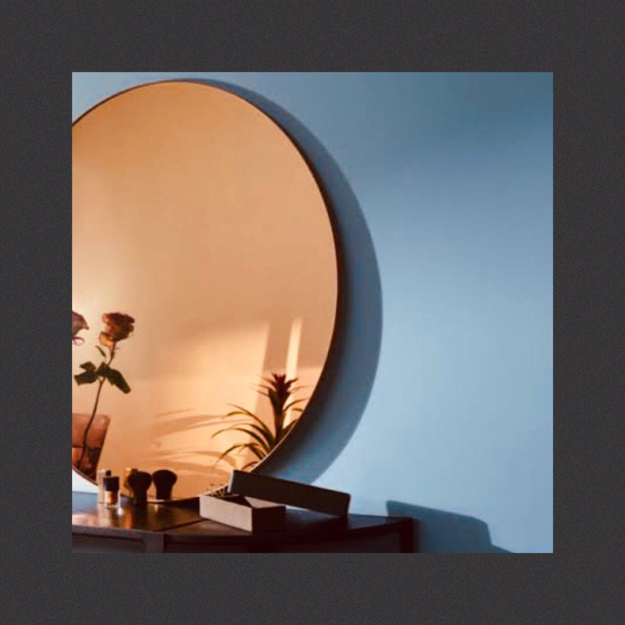 กระจกเงาสีทองแดง Copper Bronze