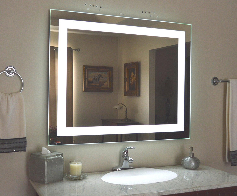 กระจกเงาซ่อนไฟด้านหลัง