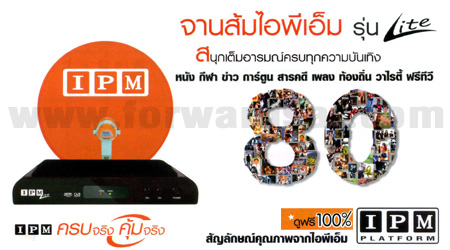 จานส้ม IPM Lite