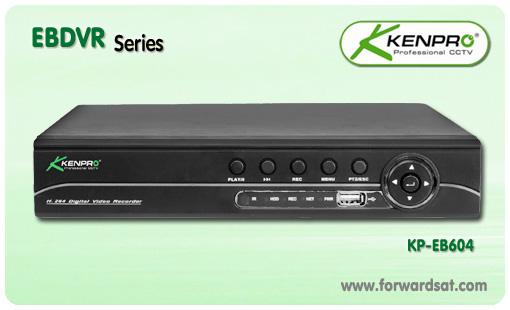 เครื่องบันทึกกล้องวงจรปิด Kenpro DVR รุ่น EB Series , KP-EB604
