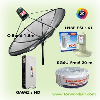 ชุดจานดาวเทียม C-Band GMMZ HD, กล่องรับดาวเทียม GMMZ HD