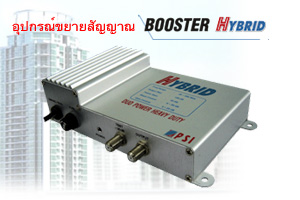 อุปกรณ์ขยายสัญญาณ Booster HYBRID, ระบบทีวีรวม