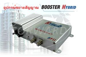 อุปกรณ์ขยายสัญญาณระบบทีวีรวม Booster Hybrid PSI, รับติดตั้งระบบทีวีรวม สำหรับระบบอาคาร