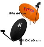 รับติดตั้งจานดาวเทียม PSI, IPM