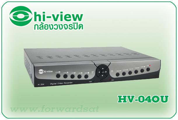 เครื่องบันทึก Hiview รุ่น HV-04OU