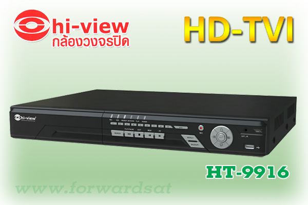 HIVIEW HD-TVI DVR 16 CH, Model HT-9916