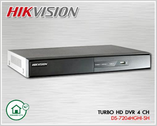 HDTVI DVR 4 CH HIKVISION