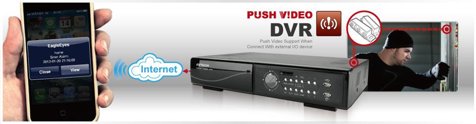 Push Video กล้องวงจรปิด AVTECH