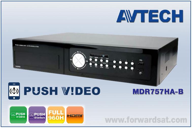 เครื่องบันทึก AVTECH DVR 8 CH รุ่น MDR757HA-B