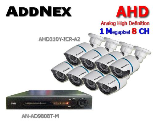 กล้องวงจรปิด ADDNEX HDTVI 8 CH