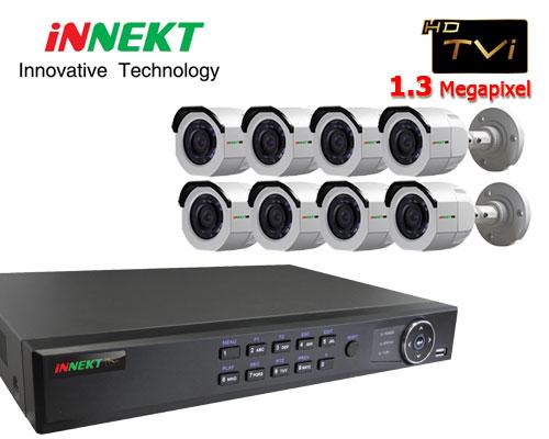 กล้องวงจรปิด INNEKT HDTVI 8 CH