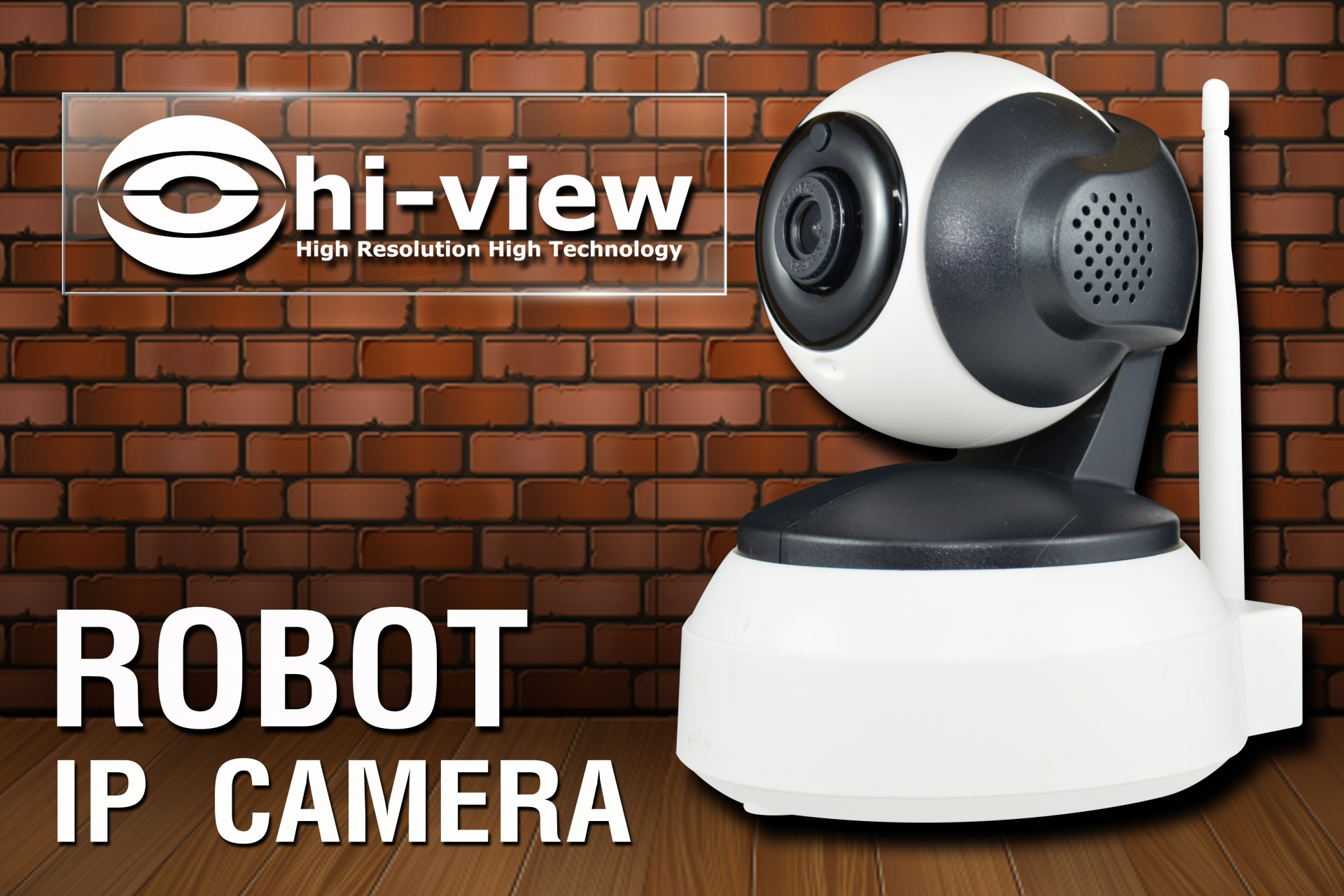 กล้องวงจรปิด Hiview รุ่น HP-ROBOT13