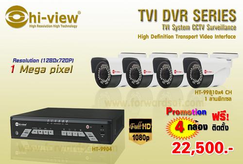 �ش���ͧǧ�ûԴ Hiview HDTVI 4 ���ͧ ������Դ���