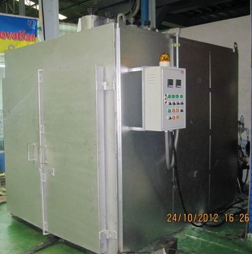 Oven gas furnace