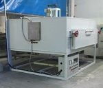 Oven tempering furnace