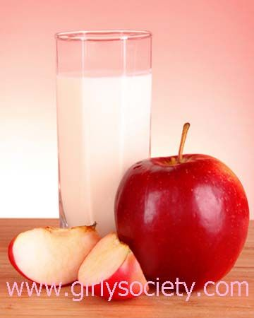apple and milk