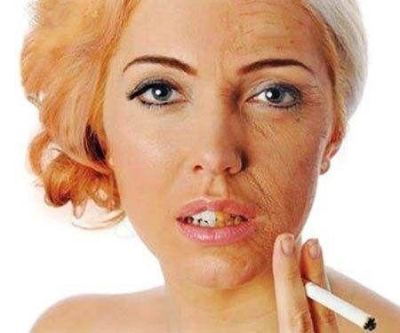 ผู้หญิง สูบบุหรี่