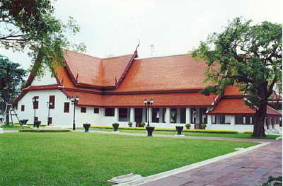 Old Palace, Thonburi, Bangkok, Thailand
