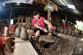 Bangkok Tour, Pottery at Koh Kred, Thailand