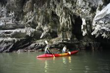 Kayak at Borthor, Krabi, Thailand