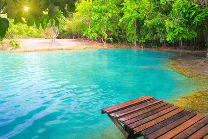 Emerald Pool, Krabi, Thailand
