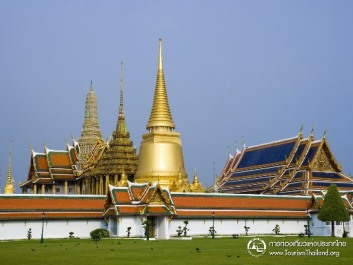 Grand Palace and Temple of Emerald Buddha, Bangkok, Thailand